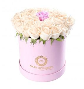 Box Semi Cuir Rose Taille M
